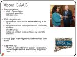 about caac