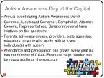 autism awareness day at the capital