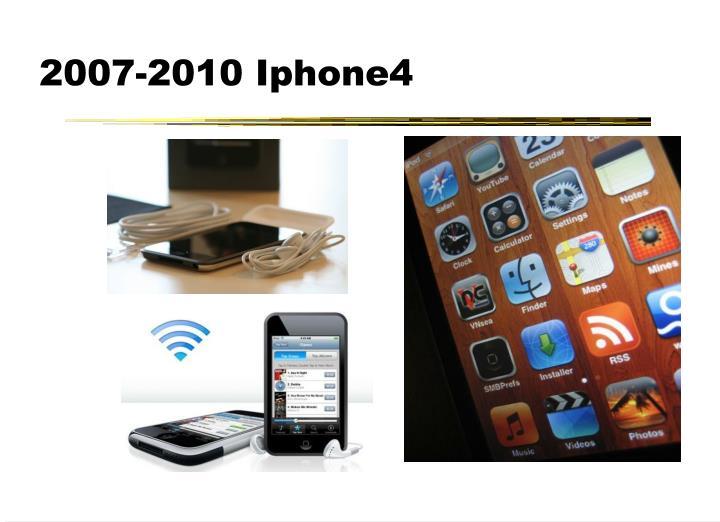 2007-2010 Iphone4