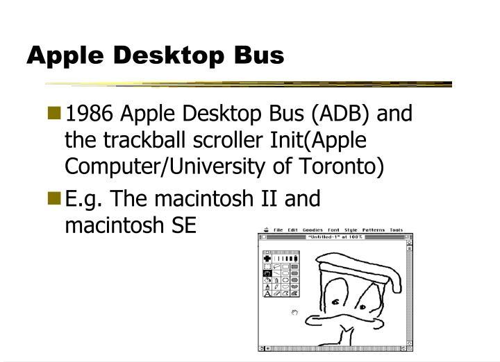 Apple Desktop Bus