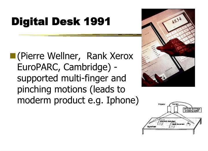 Digital Desk 1991