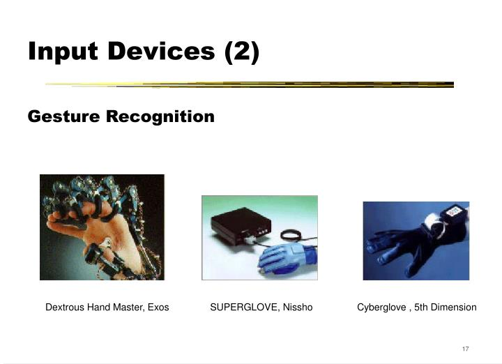 Input Devices (2)