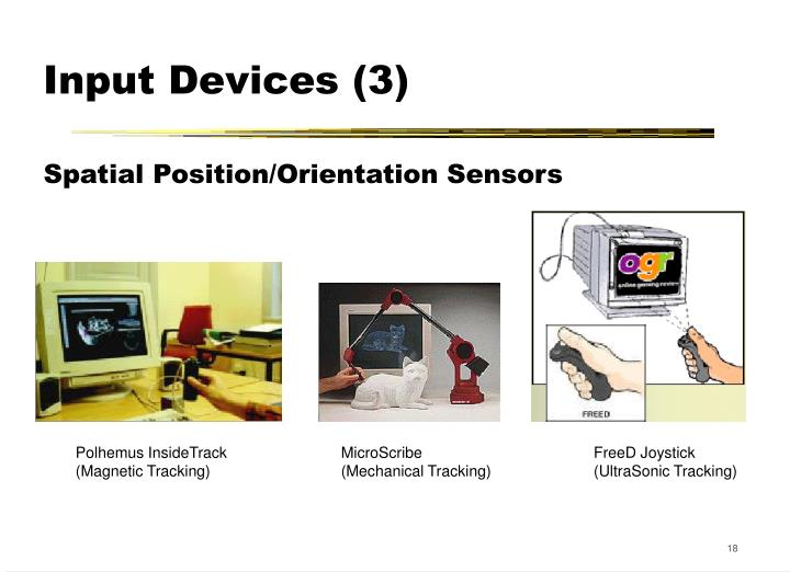 Input Devices (3)
