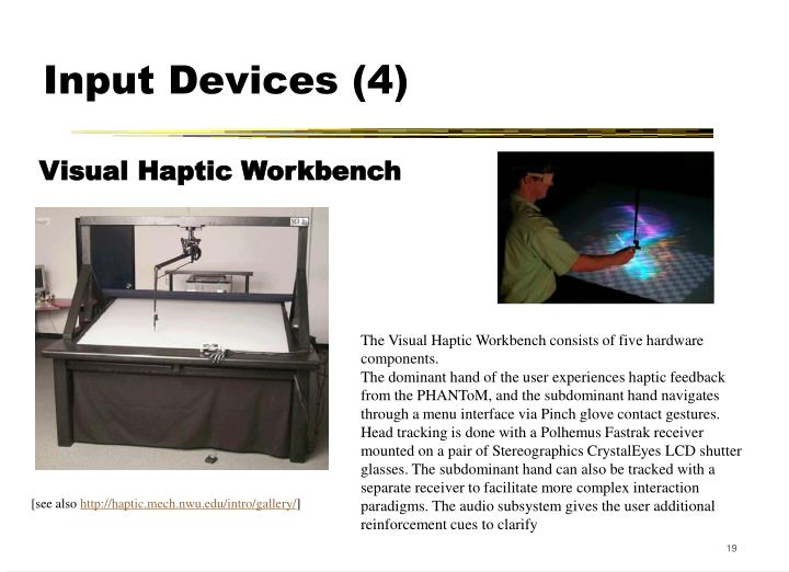 Input Devices (4)