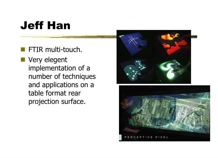 Jeff Han