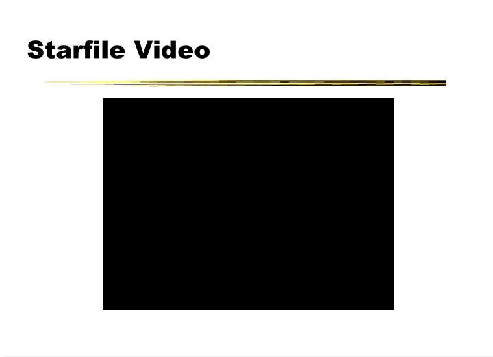 Starfile Video