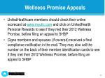 wellness promise appeals1