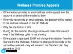 wellness promise appeals2