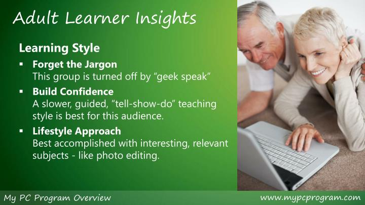 Adult Learner Insights