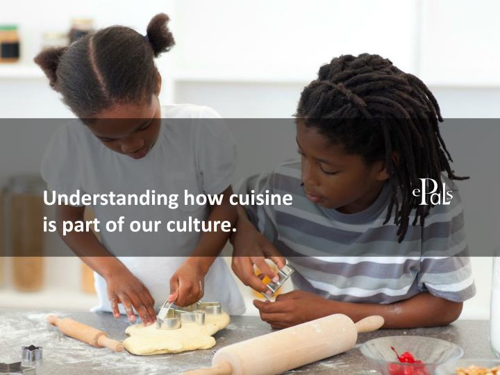Understanding how cuisine