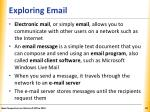 exploring email