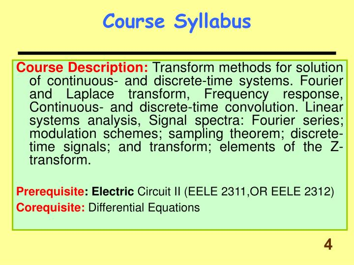 couse syllabus Course syllabi all biology course syllabi must be submitted by the first day of classes and will be posted to this website as soon as possible for syllabi from previous semesters (dating back to 2010), please email sundance@uncedu.