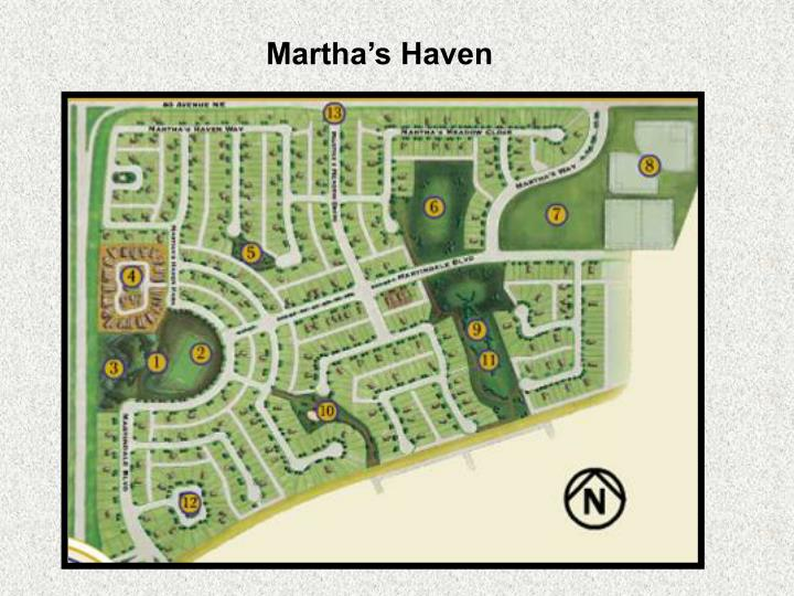 Martha's Haven