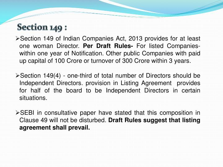Section 149 :
