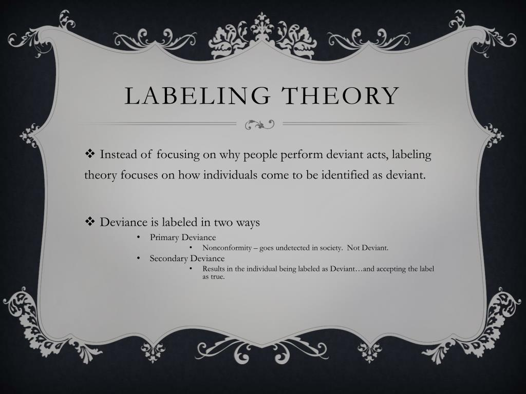 It's just a picture of Wild Labeling Theory Focuses on