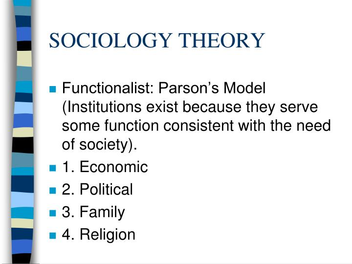 analysis on three main sociological theories The three sociological perspectives that most modern what are the three major theorietical paradigms in sociology what are the three theories of sociology.