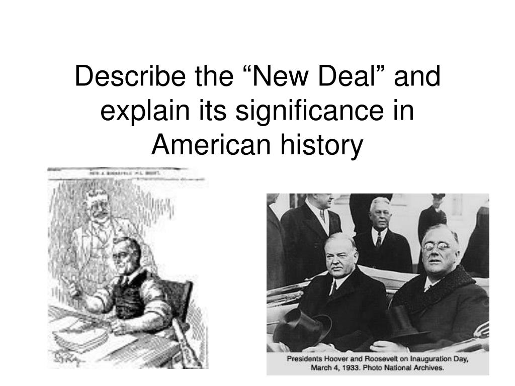 new deal significance