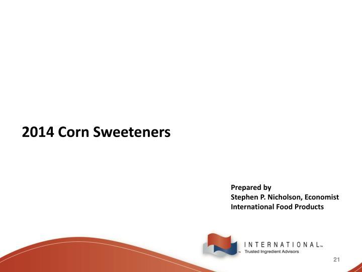 2014 Corn Sweeteners