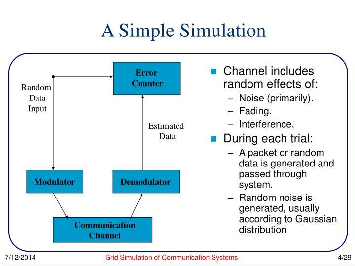 A Simple Simulation