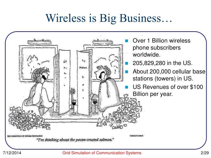 Wireless is big business