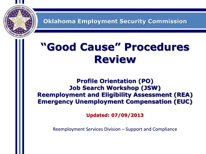 Ok employment security commision