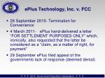 eplus technology inc v fcc