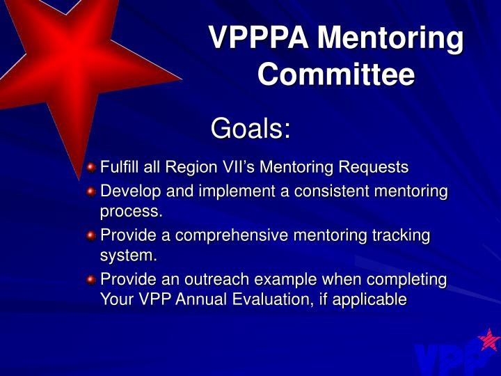 VPPPA Mentoring Committee