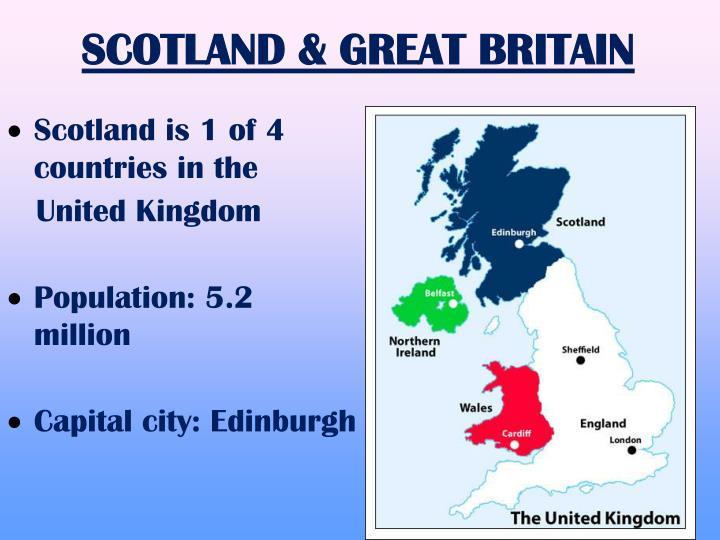 SCOTLAND & GREAT BRITAIN