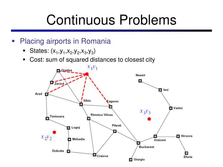 Continuous Problems