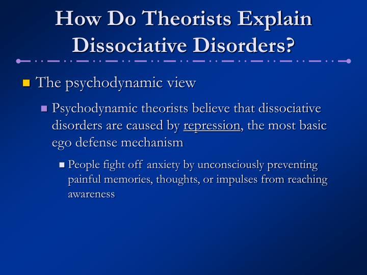 psychodynamic view