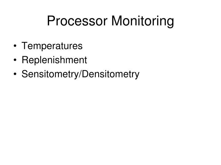 Processor Monitoring