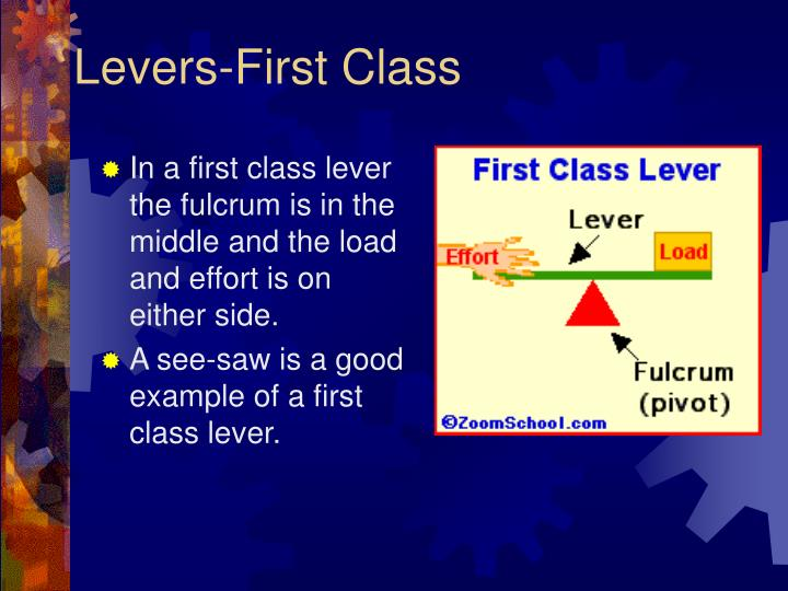 Levers-First Class