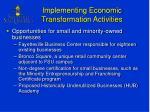 implementing economic transformation activities2