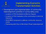 implementing economic transformation activities3