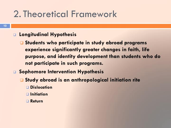 2.	Theoretical Framework
