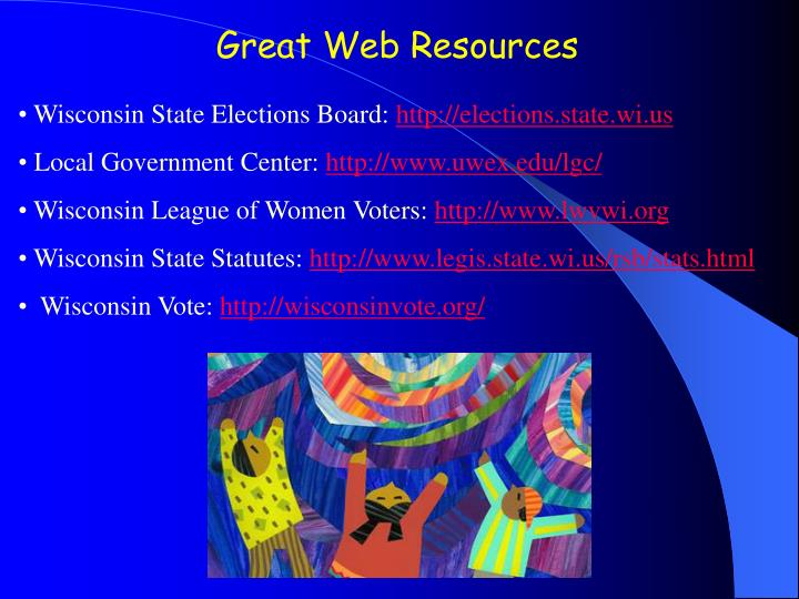 Great Web Resources