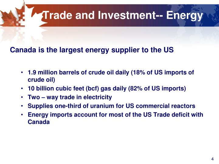 canada and us energy relationship