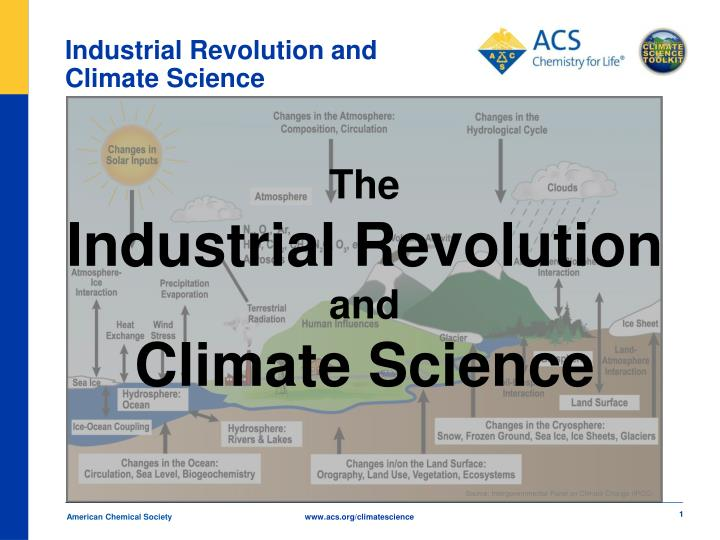 industrial revolution and climate science n.