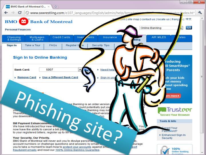 Phishing site?
