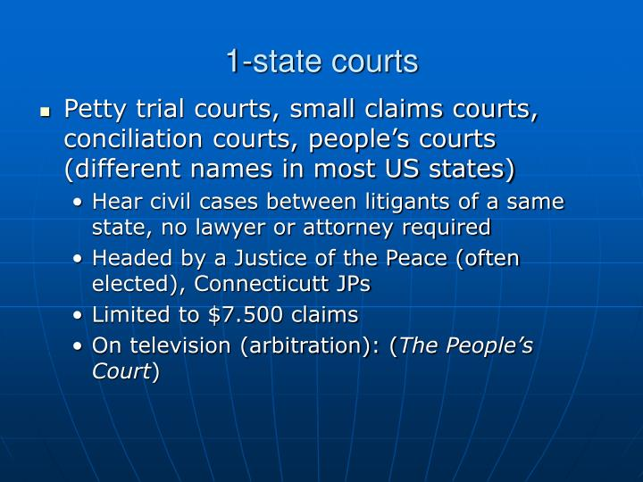 1-state courts