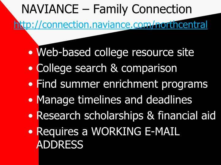 NAVIANCE – Family Connection