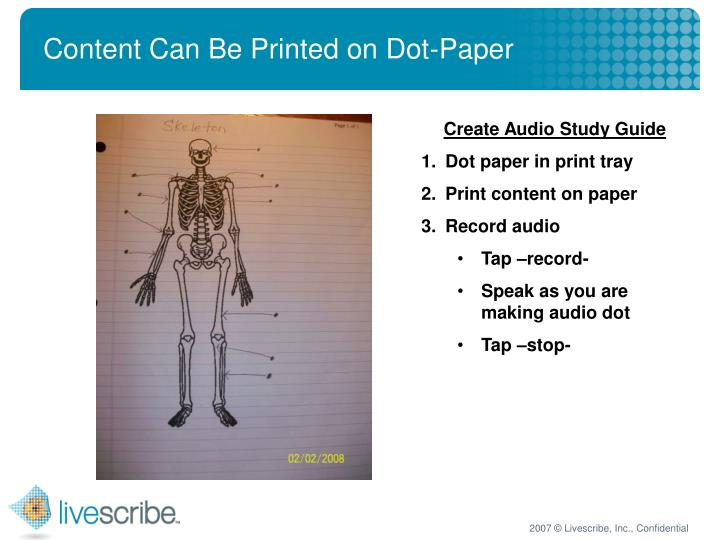 Content Can Be Printed on Dot-Paper