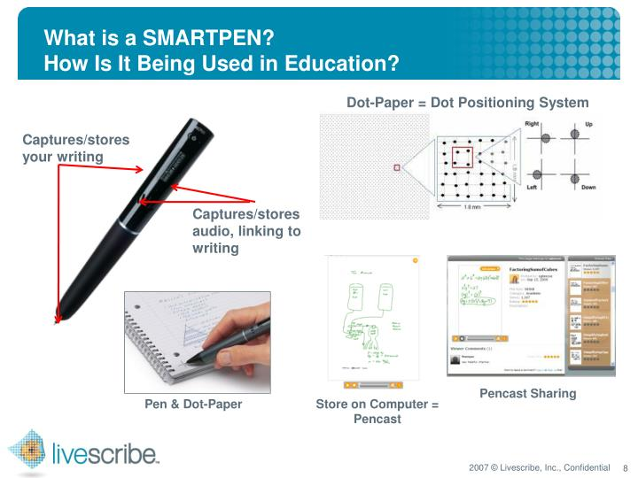 What is a SMARTPEN?
