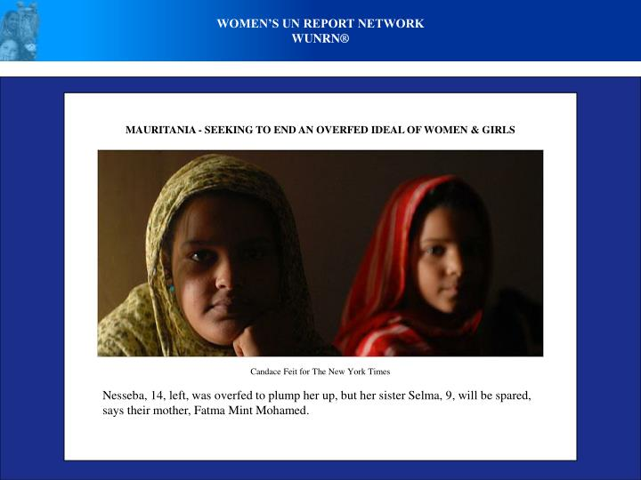 Women's UN Report Network