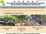 developpement des petites stations hydro lectriques shp