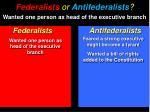 federalists or antifederalists2