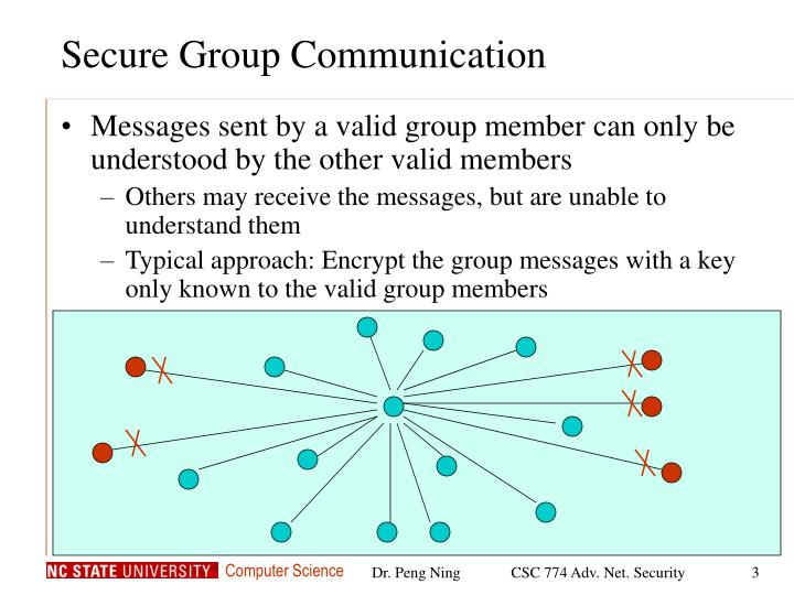 Secure group communication