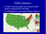 fdr s election