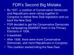 fdr s second big mistake