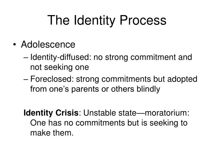 The Identity Process